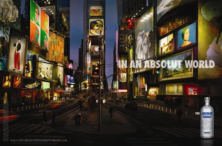 Times Square ad