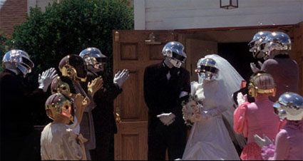 Daft Punk wedding